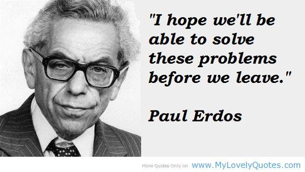 Paul Erdos's quote #2