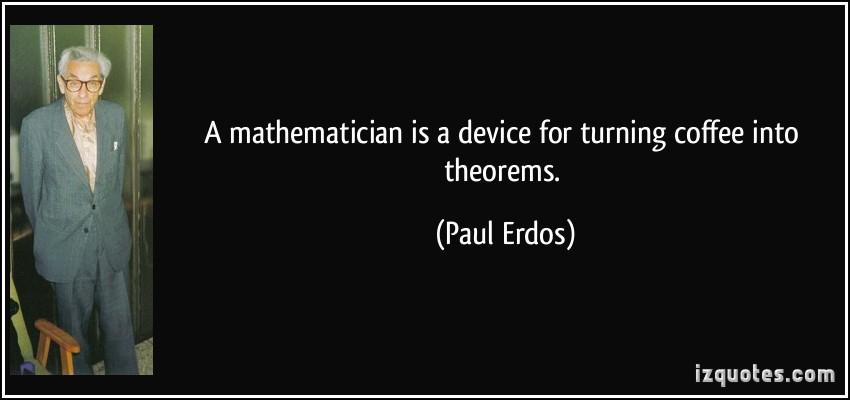 Paul Erdos's quote #4