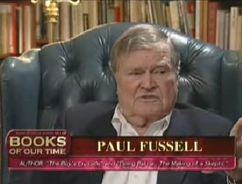 Paul Fussell's quote #2