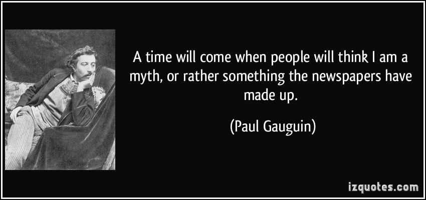 Paul Gauguin's quote #7