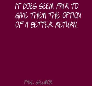Paul Gillmor's quote #3