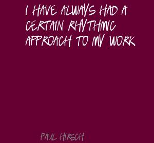Paul Hirsch's quote #2