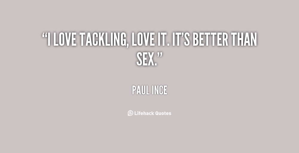 Paul Ince's quote