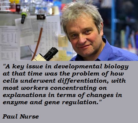 Paul Nurse's quote #1