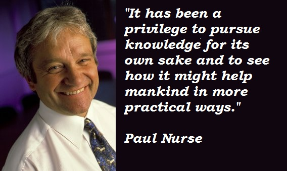 Paul Nurse's quote #3