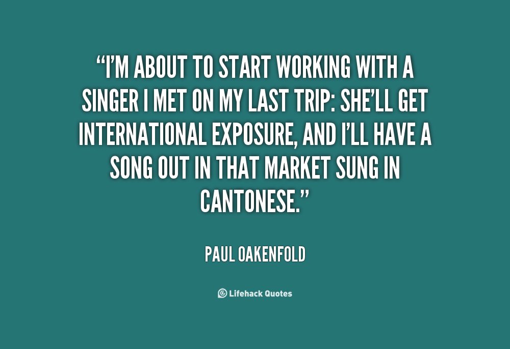 Paul Oakenfold's quote #7