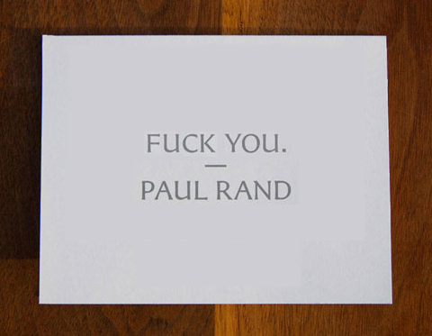 Paul Rand's quote #2