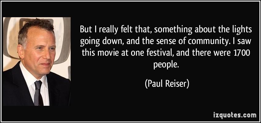 Paul Reiser's quote #1
