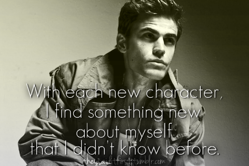 Paul Wesley's quote