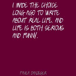 Paula Danziger's quote #4