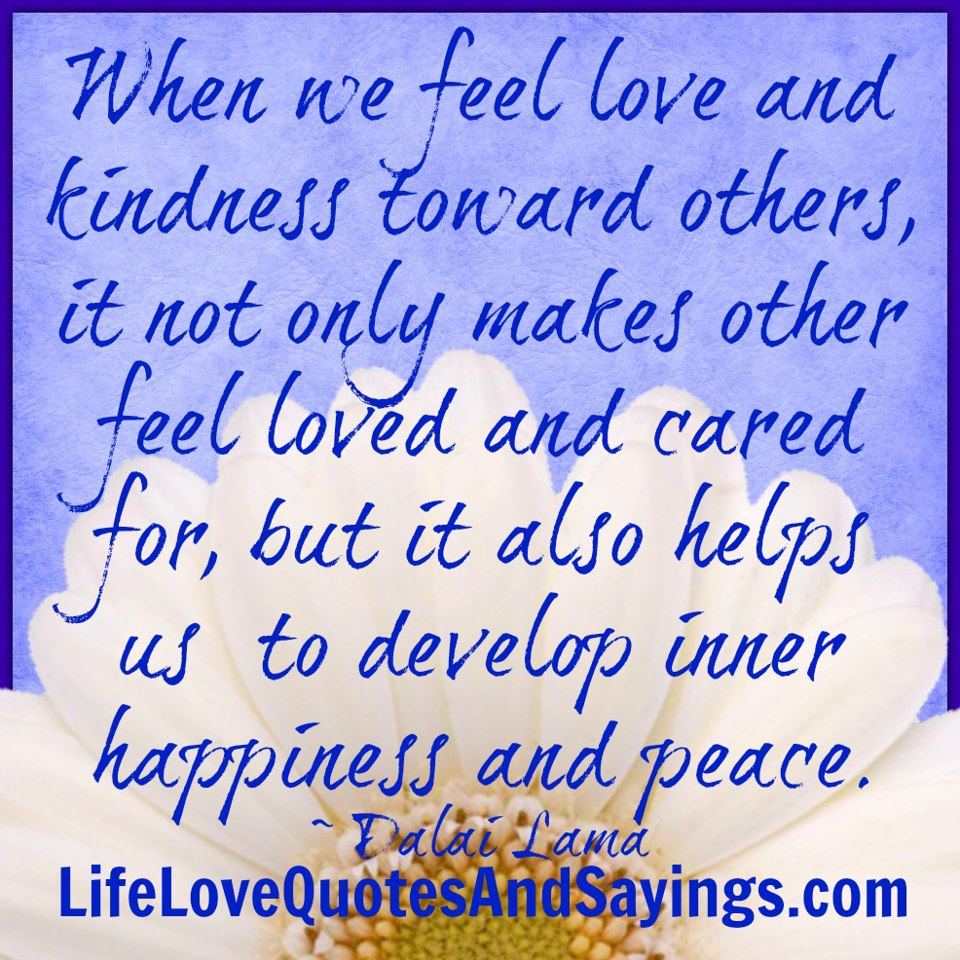 Famous Quotes About 'Peace And Love'