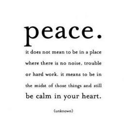 Peace quote #1