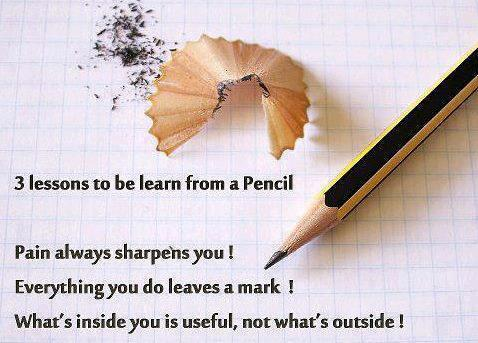 Pencil quote #4