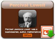 Percival Lowell's quote #1