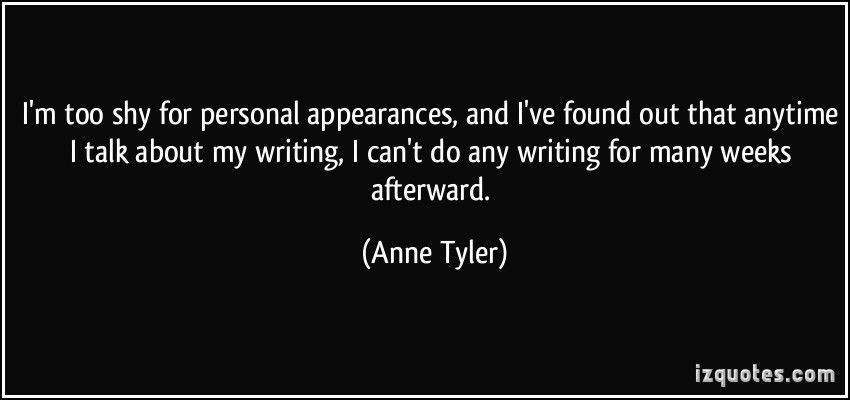 Personal Appearances quote #1