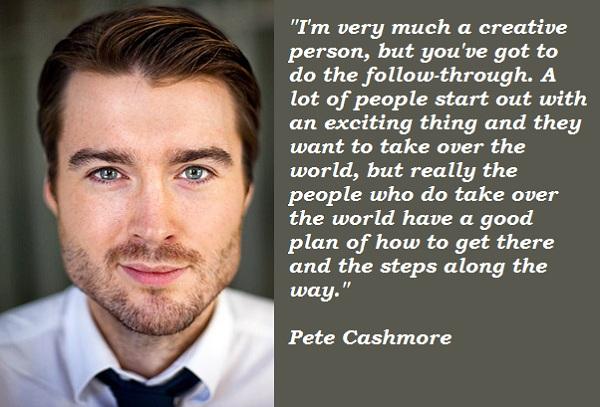 Pete Cashmore's quote #2
