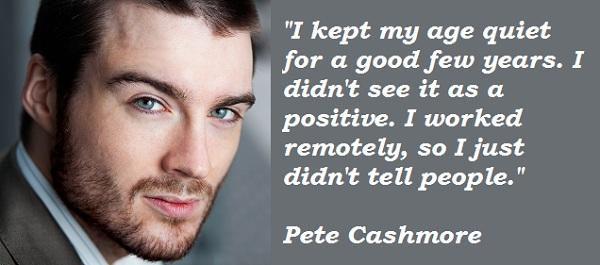 Pete Cashmore's quote #4