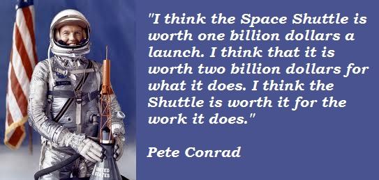 Pete Conrad's quote #3