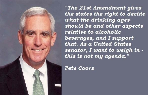 Pete Coors's quote #2