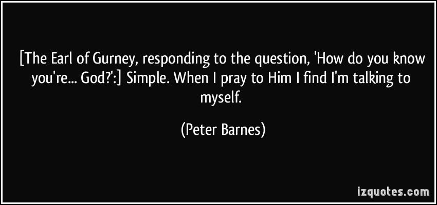 Peter Barnes's quote