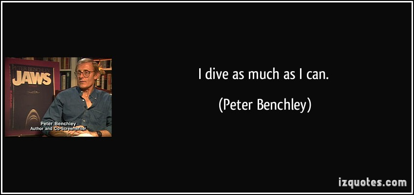 Peter Benchley's quote #4