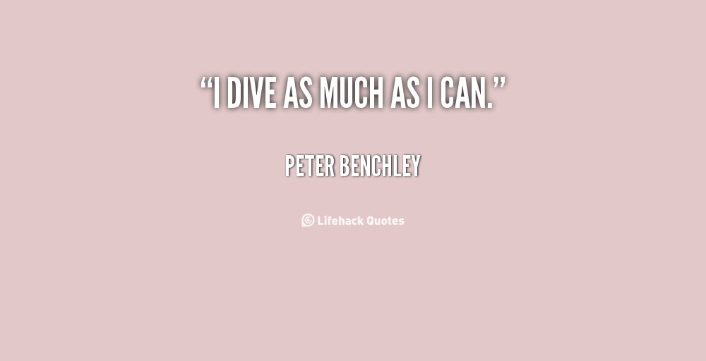 Peter Benchley's quote #6
