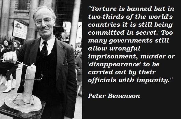 Peter Benenson's quote #2