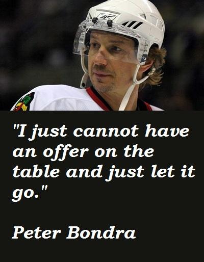 Peter Bondra's quote #1
