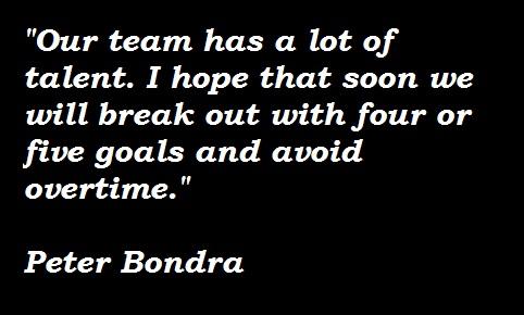 Peter Bondra's quote #5