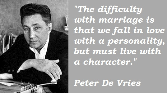 Peter De Vries's quote #2