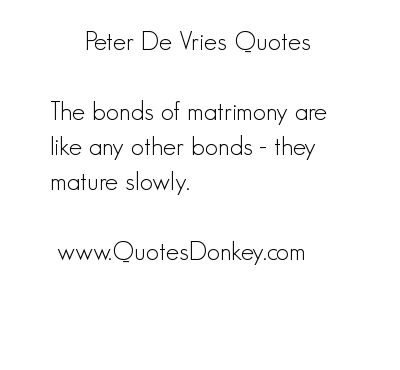 Peter De Vries's quote #7