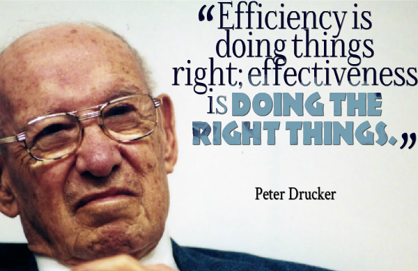 Peter Drucker's quote #3