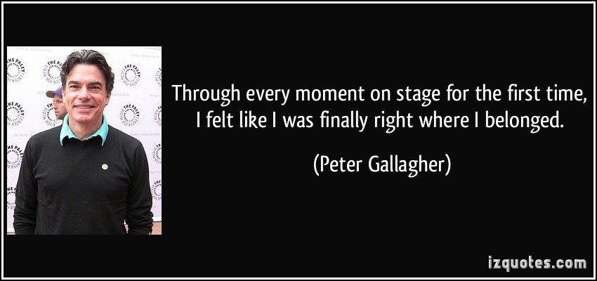 Peter Gallagher's quote #3