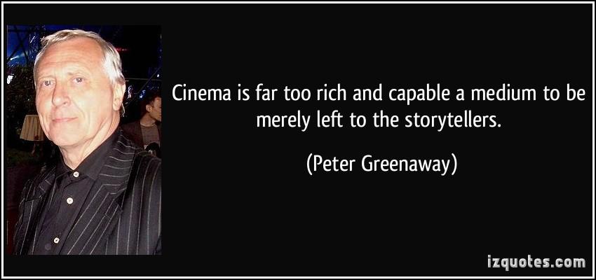 Peter Greenaway's quote #5