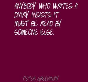 Peter Greenaway's quote #4