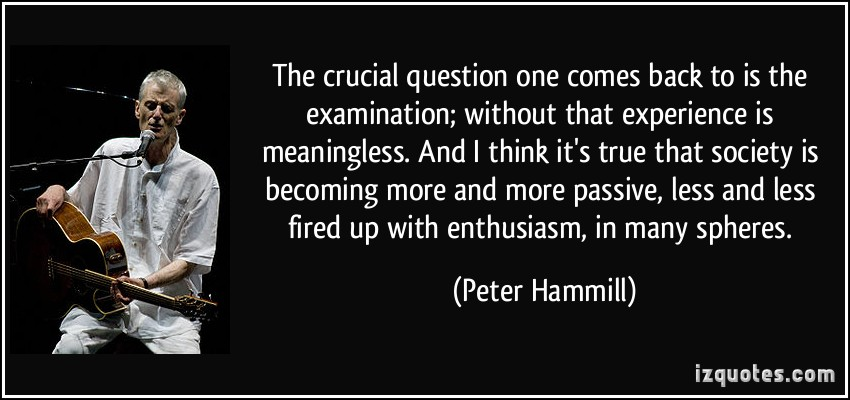 Peter Hammill's quote #7