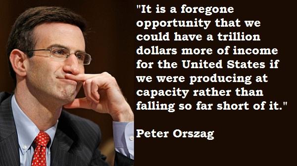 Peter Orszag's quote #2