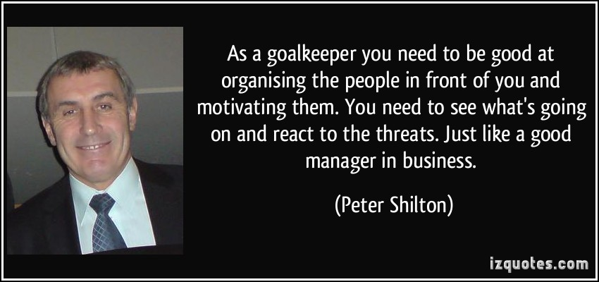 Peter Shilton's quote #3