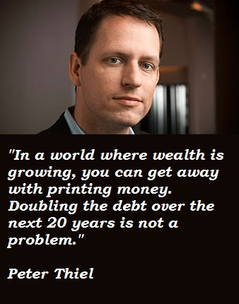Peter Thiel's quote