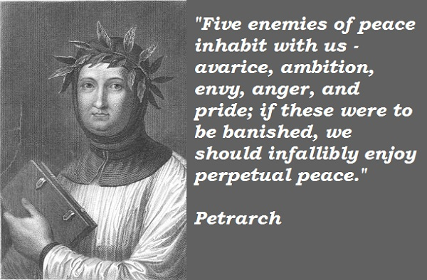 Petrarch's quote #1