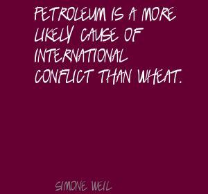 Petroleum quote #1