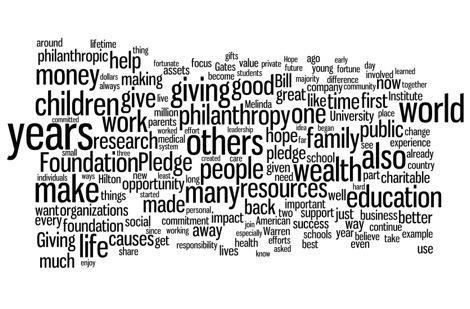 Philanthropists quote #2