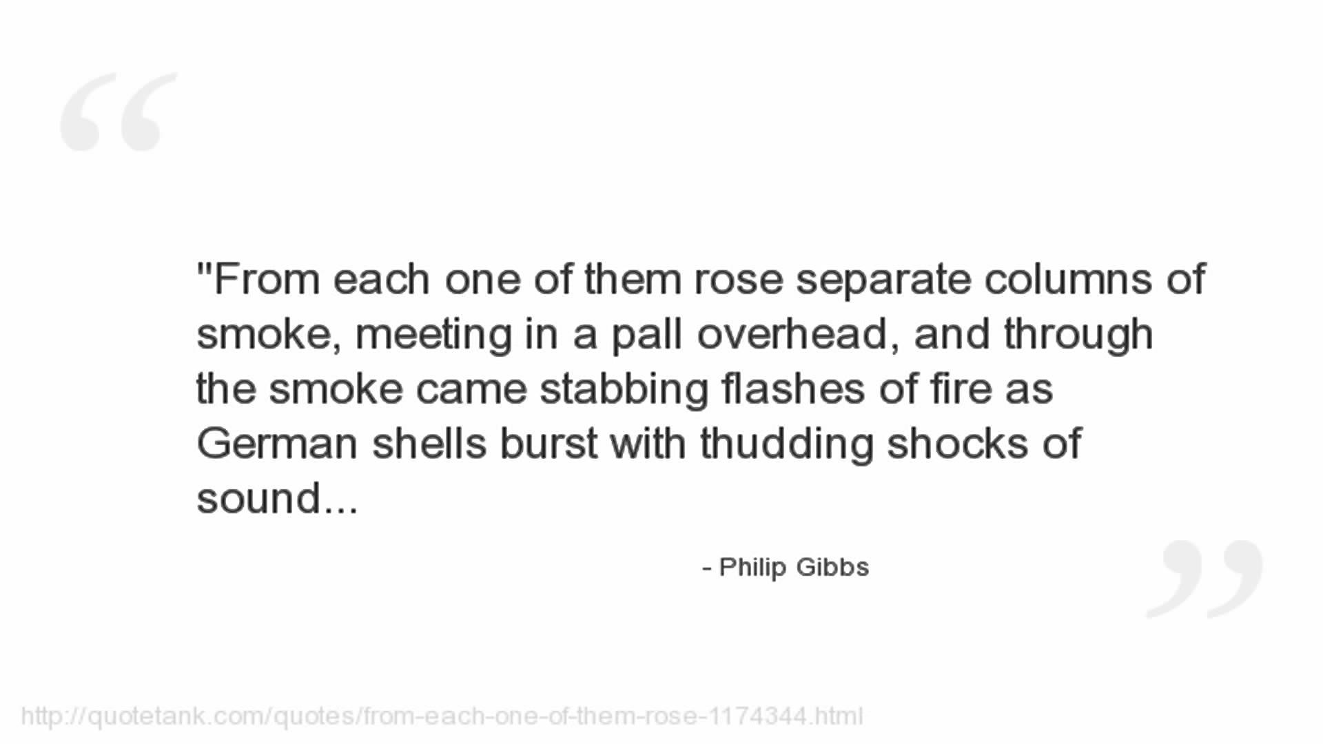 Philip Gibbs's quote