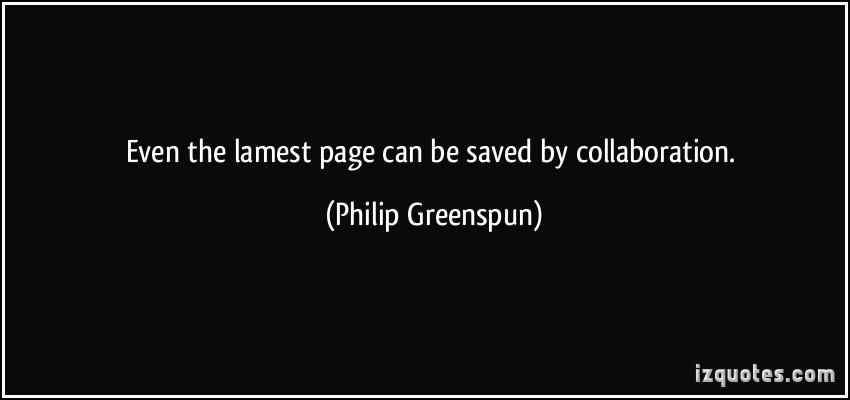 Philip Greenspun's quote #1
