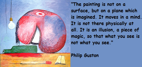 Philip Guston's quote #1