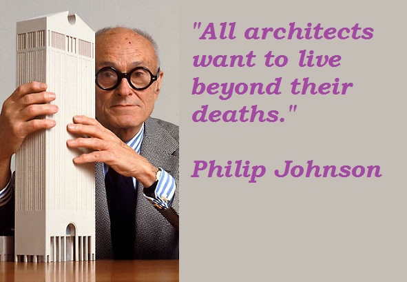 Philip Johnson's quote #1