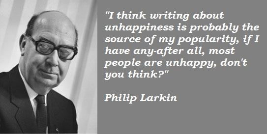 Philip Larkin's quote #2