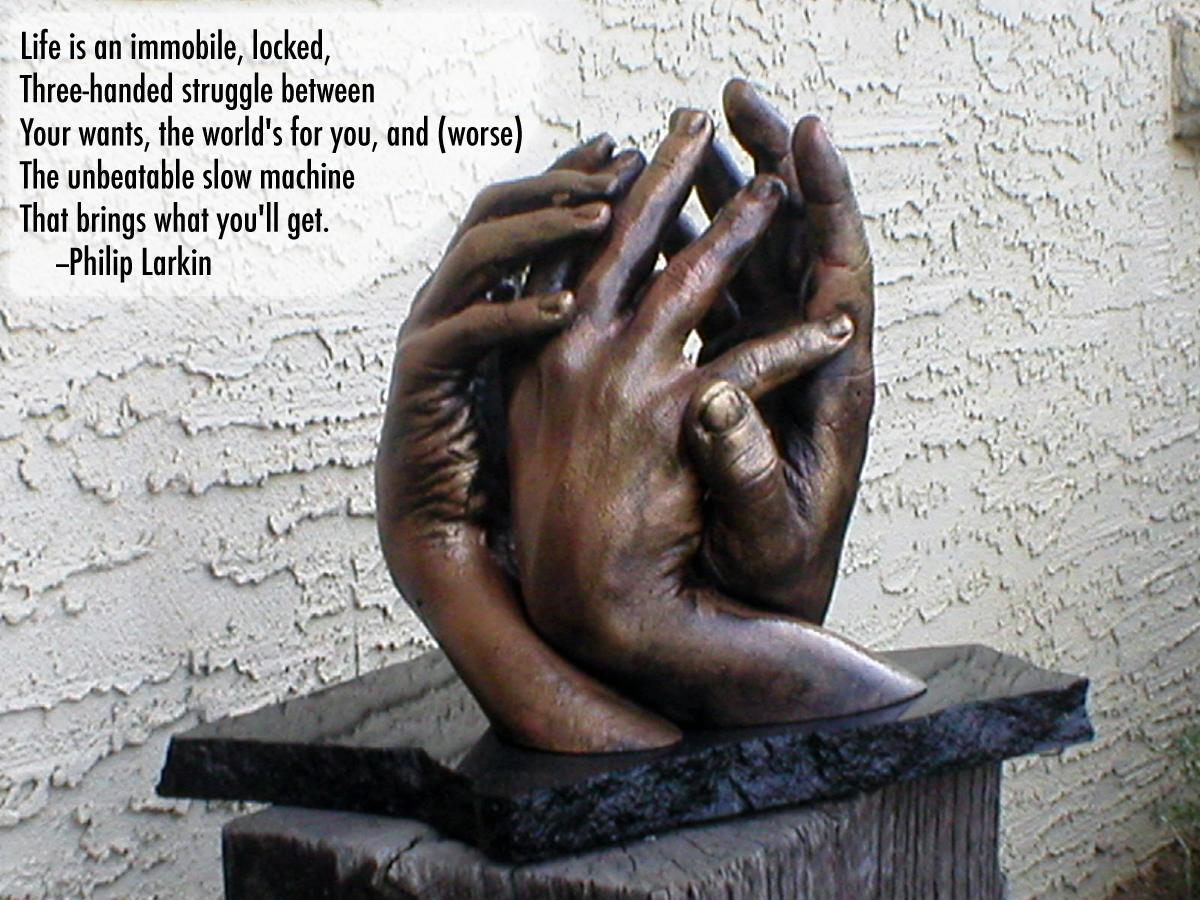 Philip Larkin's quote #1