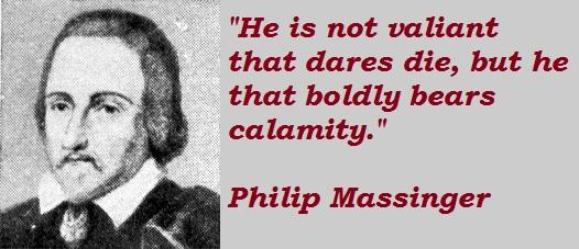 Philip Massinger's quote #6