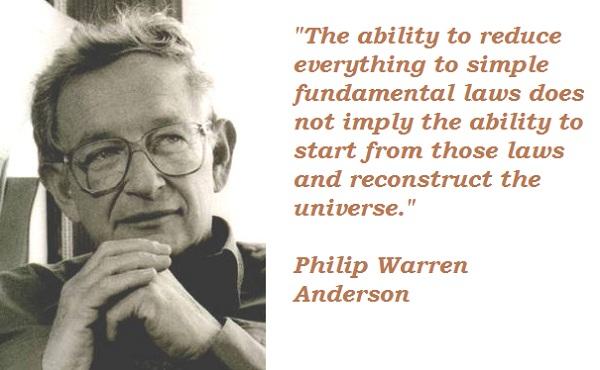 Philip Warren Anderson's quote #3